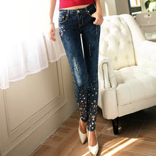 Diamond Drilled Jeans