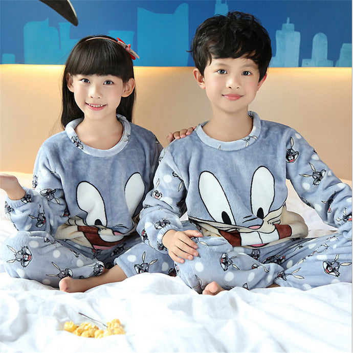 Winter Soft Pajamas Sets