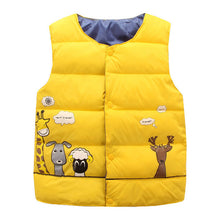 Cute Cartoon Sleeveless Jacket Coat