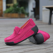 Casual Leather Suede Moccasins Shoes