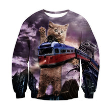 Animal Print 3D Sweatshirts