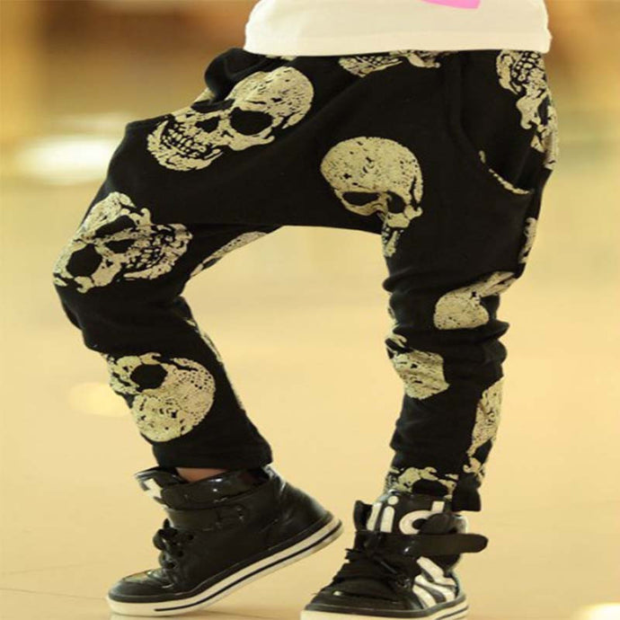 Cute Skulls Harem Pants