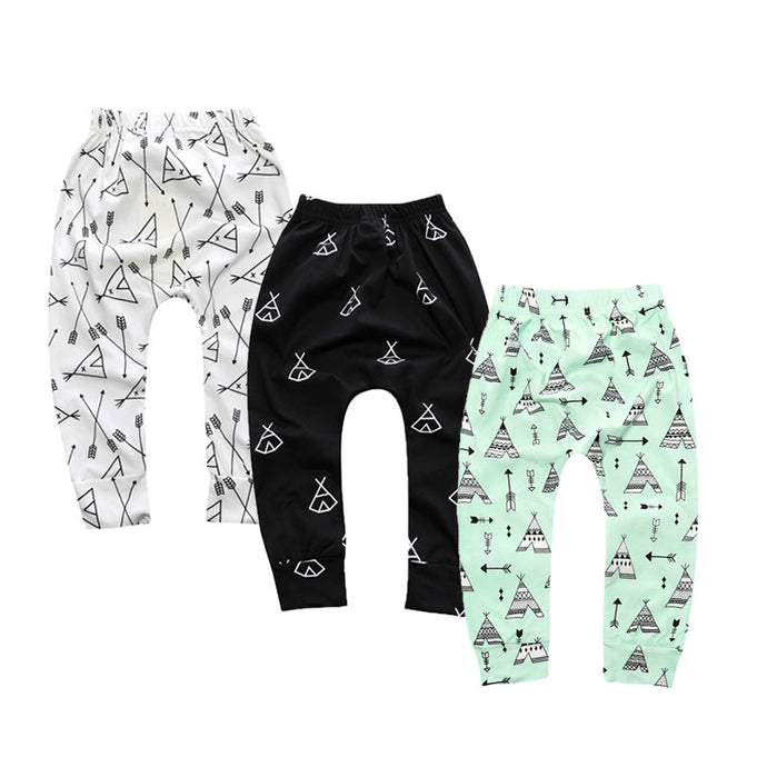Cartoon Harem Leggings Pants