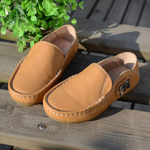 Moccasin-Gommino Leather Shoes