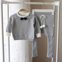 Cotton Bow Knitwear Sweaters Suits