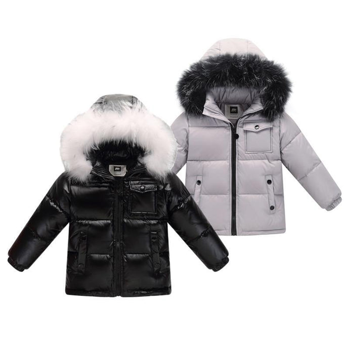 Hooded Parkas Winter Jacket
