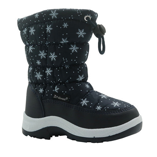 Mid-Calf Snow Boots with Wollen Lining