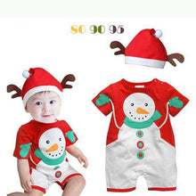 Christmas Snowman Rompers