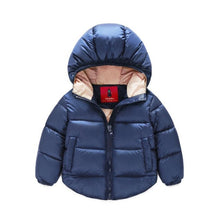 Cotton Down Hooded Jacket
