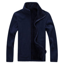 Warm Fleece Camping Jacket