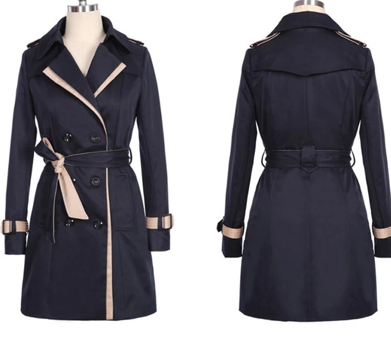 Long Sleeve Trench Coat