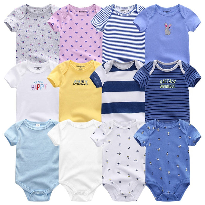 7Pcs/Lot Infant Jumpsuits