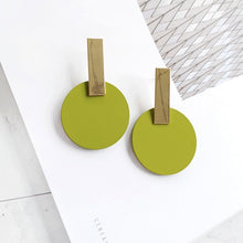 Dangle Drop Geometric Earrings