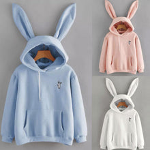 Rabbit Ear Hooded Sweatshirts