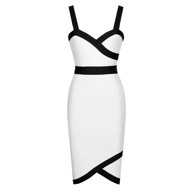 Bandage Spaghetti Midi Dress