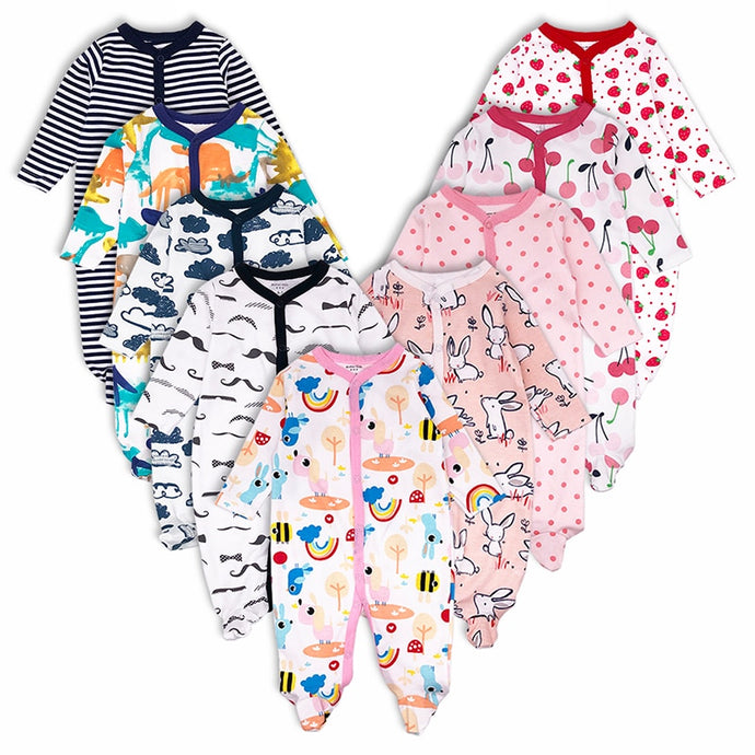 Printed Infant Jumpsuit Set