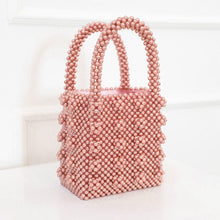 Vintage Beaded Pearl Handbag