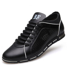 Lace-up Solid Synthetic Shoes