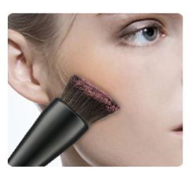 Wool Fiber Cosmetic Brush