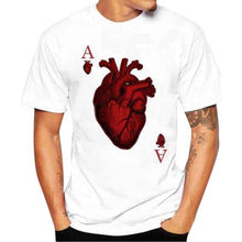 Printing Heart Summer T Shirt