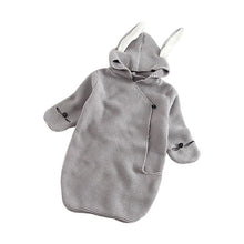 Knitted Rabbit Ear Sleeping Bag