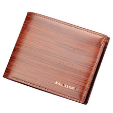 Billfold Fashion Leather Wallet