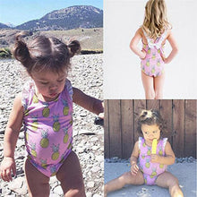 Pineapple Print Swimsuits