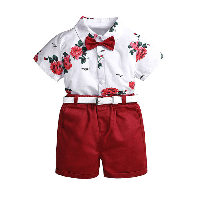 Printed Floral Casual Clothing Sets