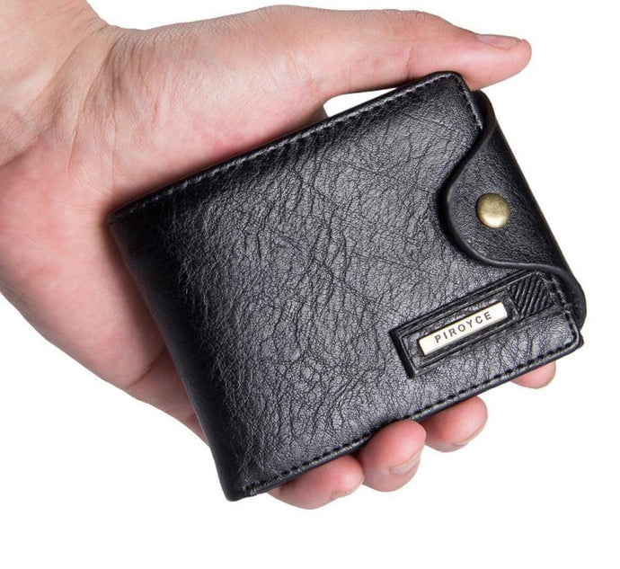 Leather Card Holder Zip Wallet