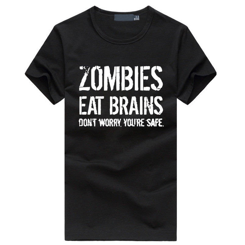 Men T-Shirt - Funny Zombie T-shirt