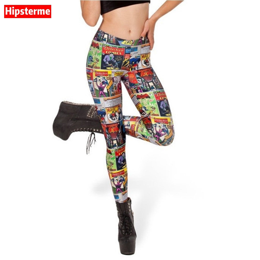 Women Tights - Comics pants
