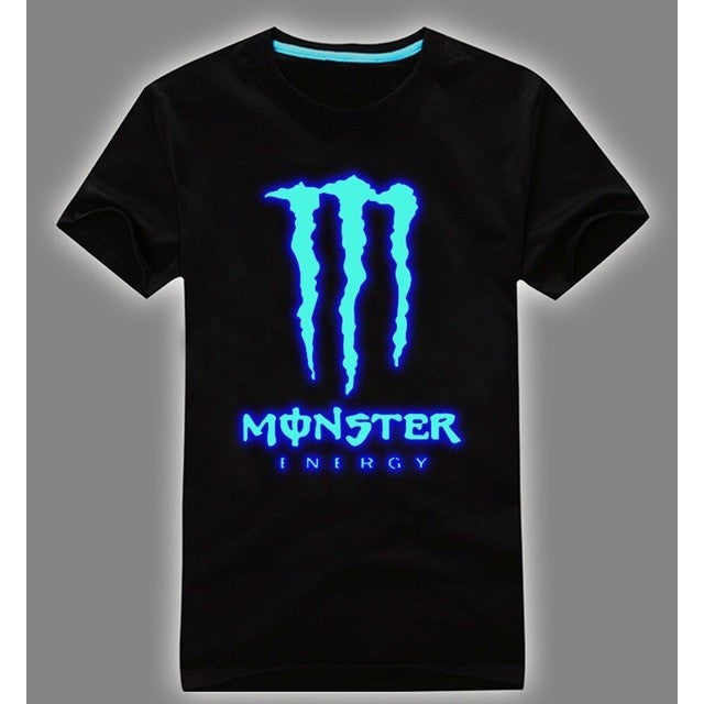 Men T-Shirt - Magic Blue Glow