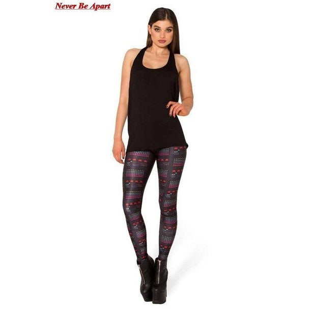 Women Tights - 3D Print Pants