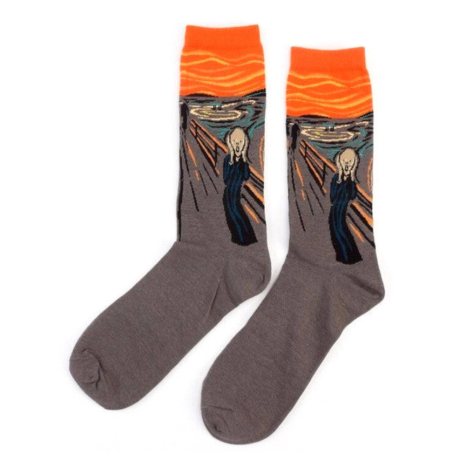 Unisex Socks - Funny Art Painting