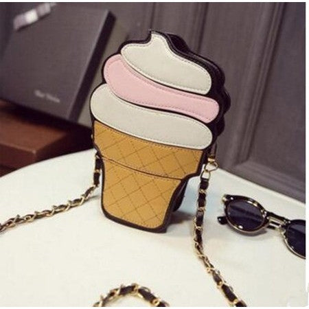 Women clutch - Ice Cream