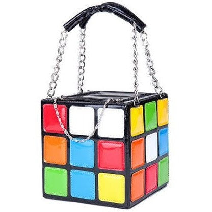 Women clutch - Rubik's Cube