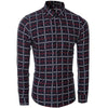 Men Shirt - Slim Fit Plaid