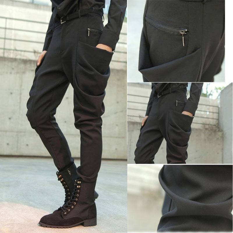 Men Pants - Skinny harem Pencil