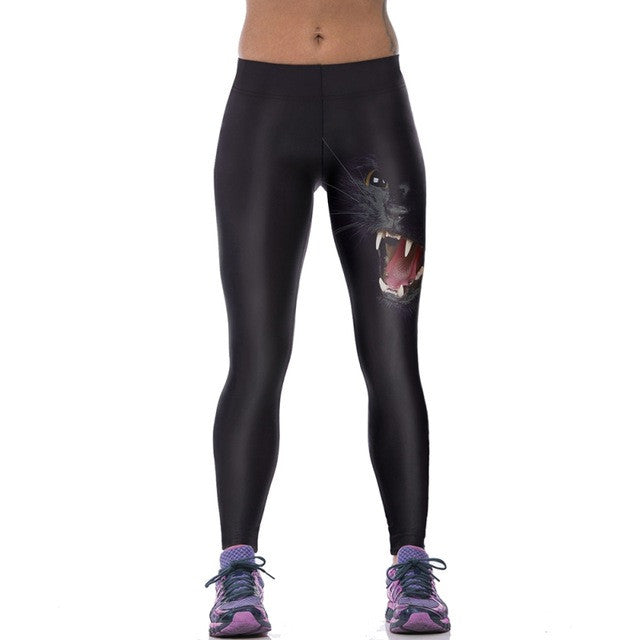 Women Tights - 3D Stretch Pants