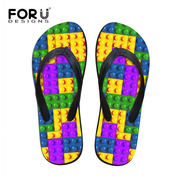 Women Shoes - 3D Printed Flip Flops