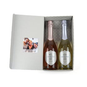 Sparkling Wine 2 Bottle Gift Set