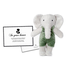 Stuffed Elephant Tembo Bundle