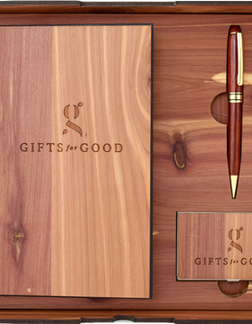 Executive Wood Gift Set - Gifts For Good