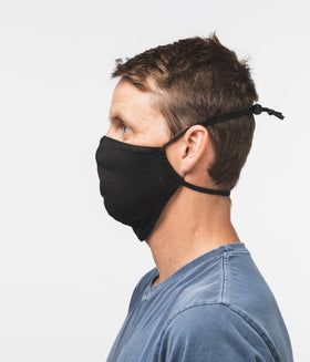 Adjustable Face Covering