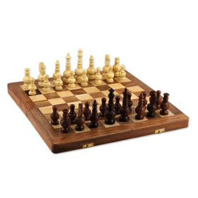 Persian Grandeur Wood Chess Set