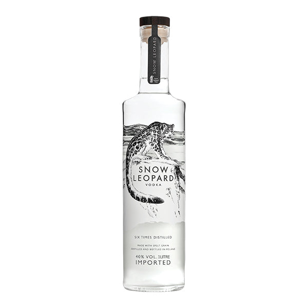 Snow Leopard Vodka 1L