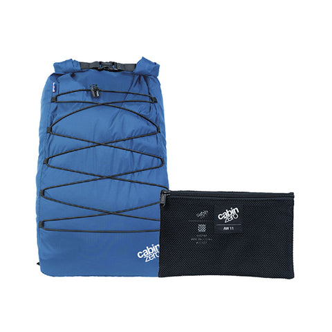 Cabinzero Adv Dry 30L Waterproof Backpack- Atlantic Blue