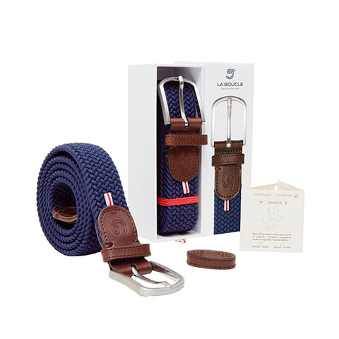 La Boucle Original Paris Navy Blue Belt