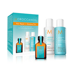 Moroccanoil Hair Repair + Moisture Trio
