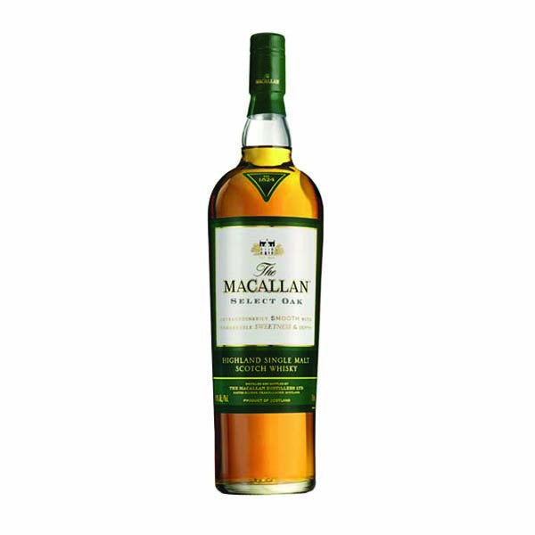 The Macallan 1824 Collection Select Oak Single Malt Scotch Whisky 1L